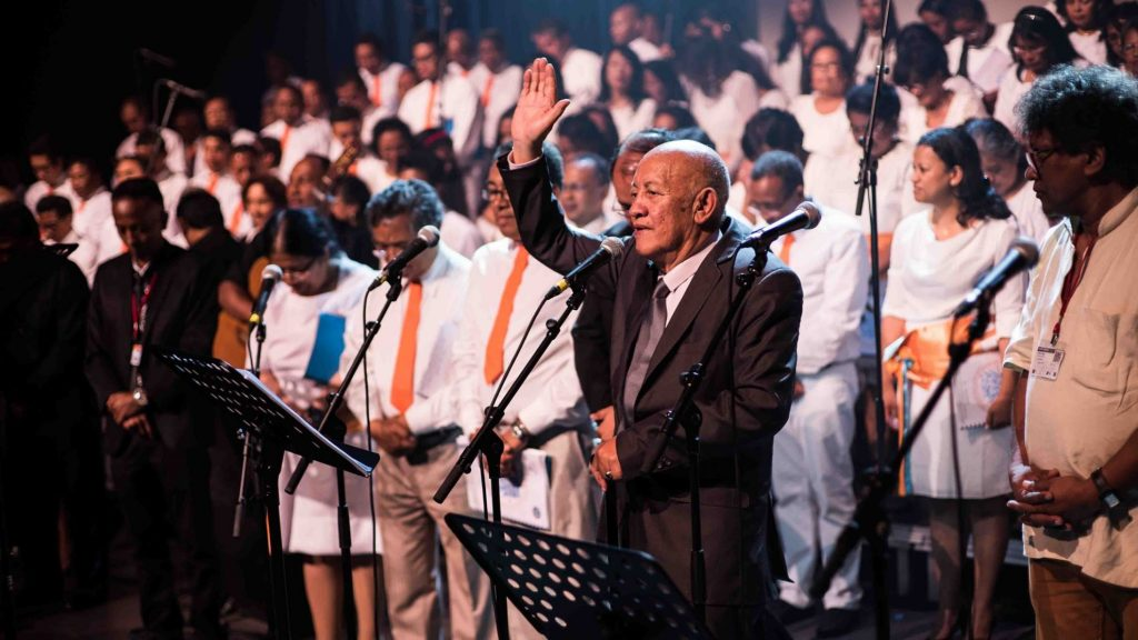 jubilé 50 ans sacerdoce pasteur Josoa rakotonirainy