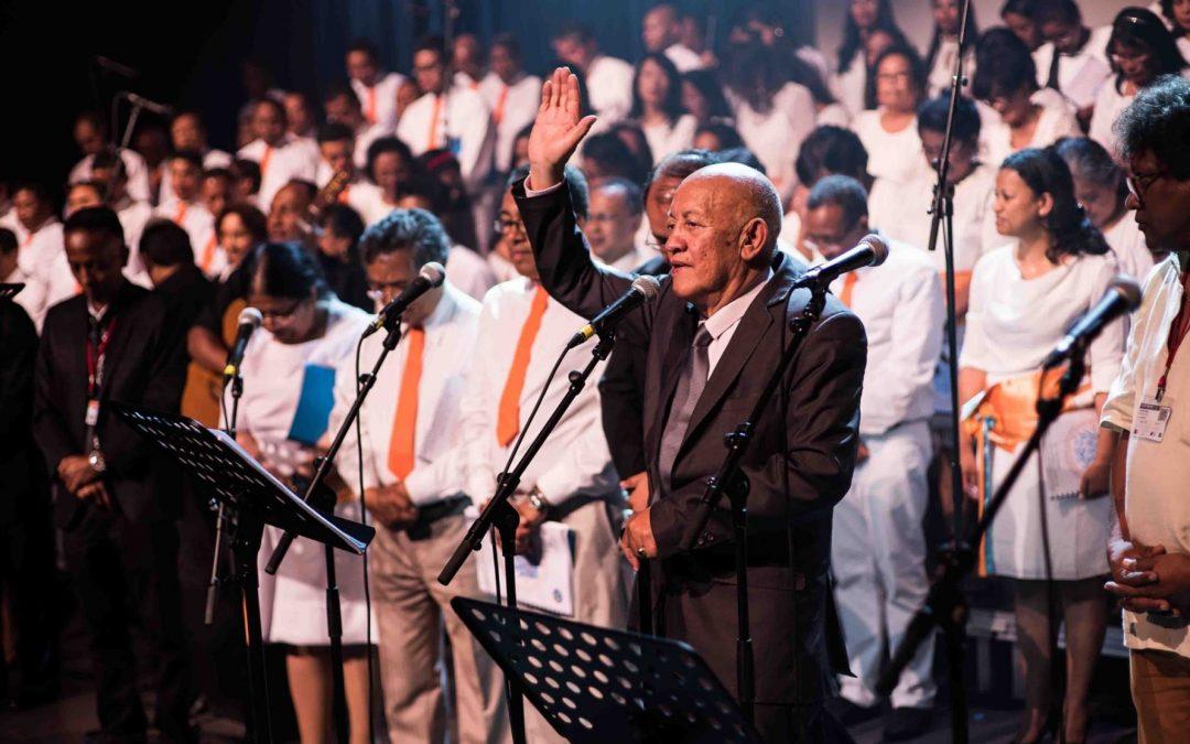 Jubilé des 50 ans de sacerdoce du Pasteur Josoa Rakotonirainy